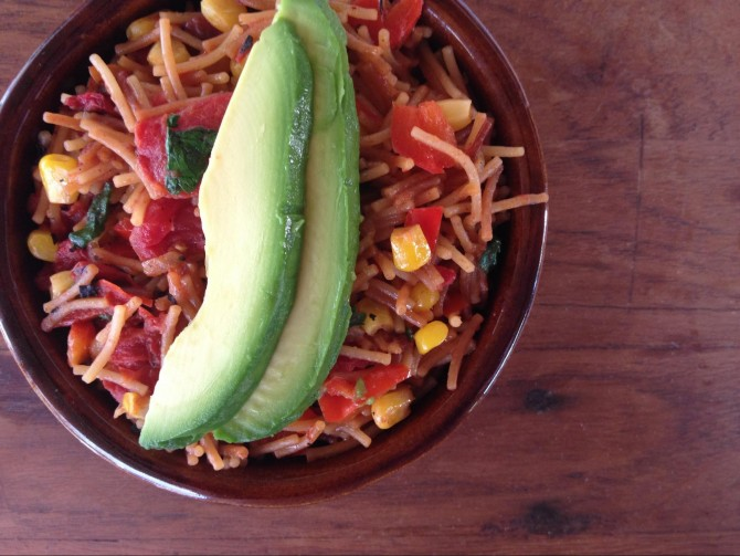 Meatless Monday – Fideo (Mexican Spaghetti)
