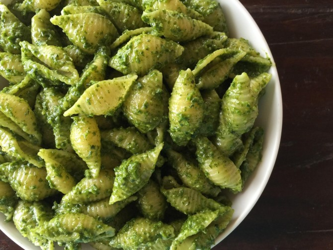 Meatless Monday – Basil-Kale Pesto