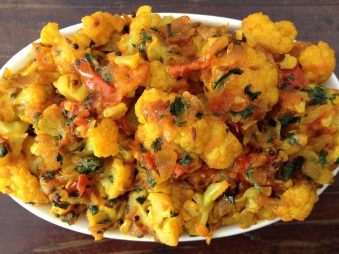Meatless Monday – Cauliflower Indian Style