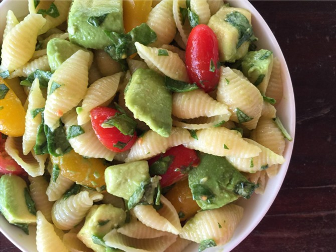 Meatless Monday – Pasta Salad with Lemon-Thyme Vinaigrette