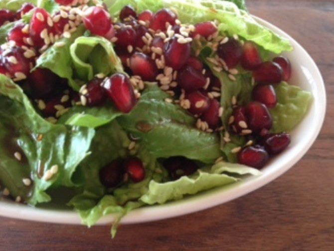 Meatless Monday – Pomegranate Salad