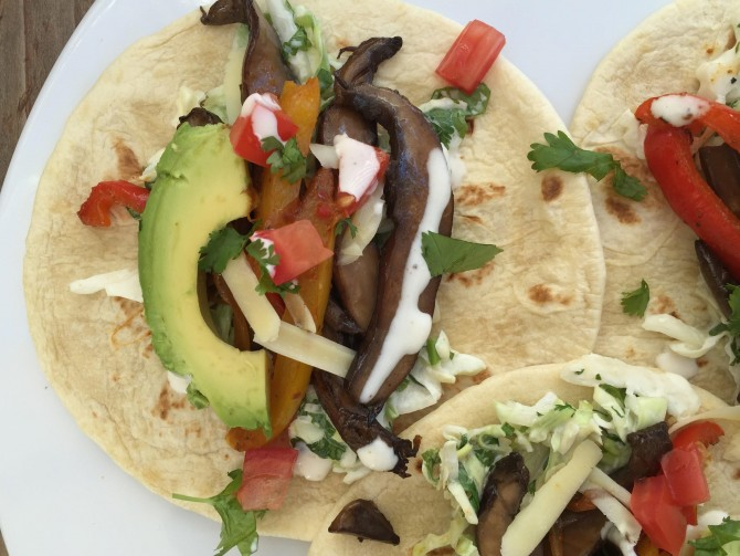 Meatless Monday – Vegetarian Soft Tacos