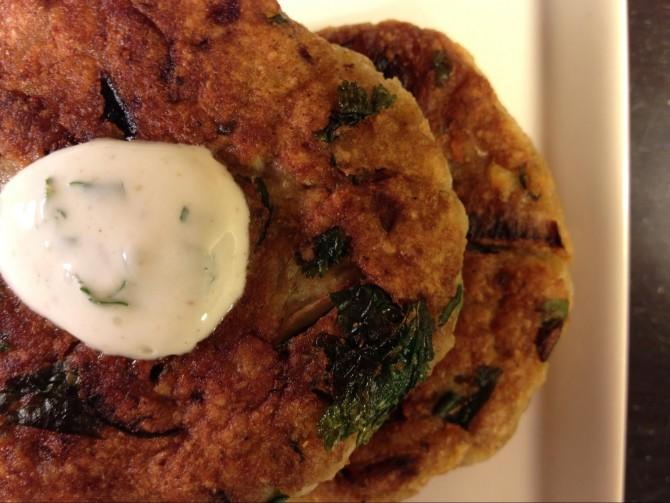 Meatless Monday – Indian Inspired Latkes