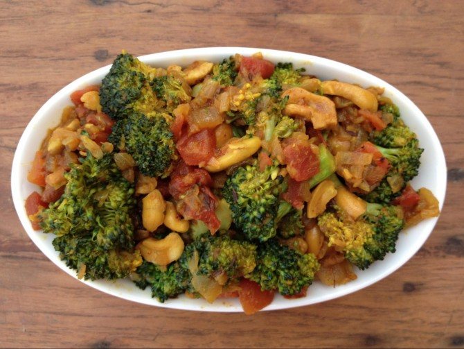 Meatless Monday – Curried Broccoli