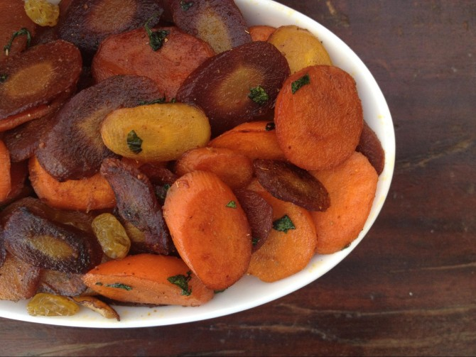 Meatless Monday – Sautéed Carrots with Garam Masala and Brown Sugar