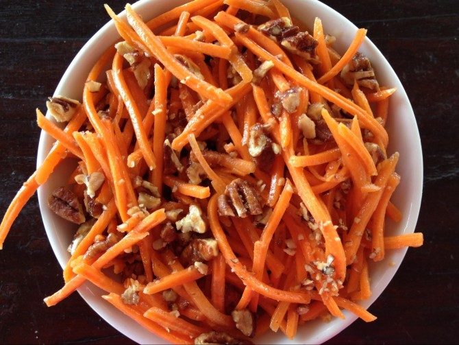 Meatless Monday – Carrot Salad