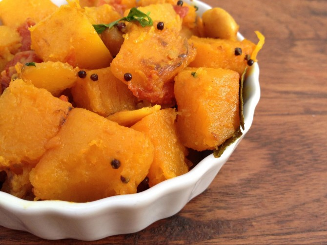 Meatless Monday – Butternut Squash (with Indian spices)