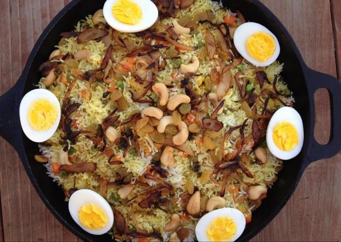 Meatless Monday – Vegetable Biryani (Indian Rice Dish)