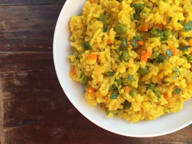 A Mindfulness Jar,  & My Khichadi  recipe