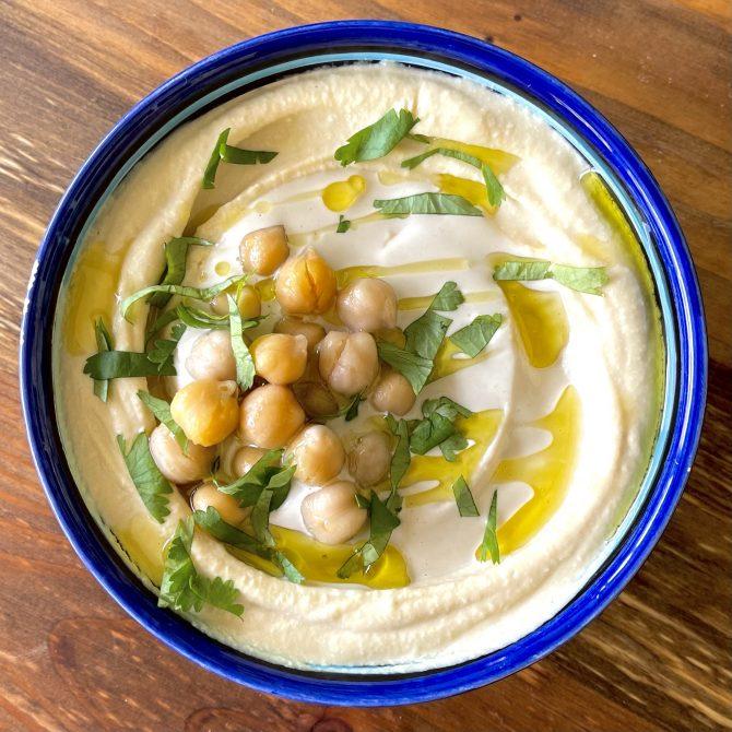 Creamy Dreamy Hummus