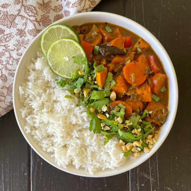 Creamy Fall Curry with Sweet Potato